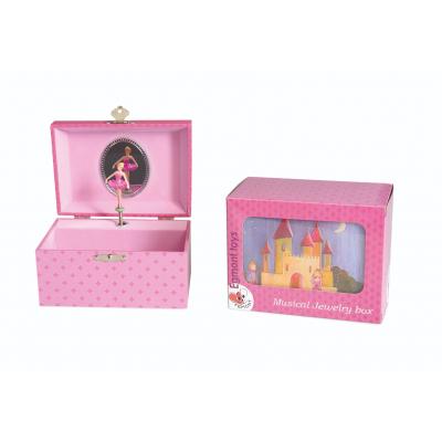 Egmont Toys muziekdoosje en juwelenkoffertje prins en prinses