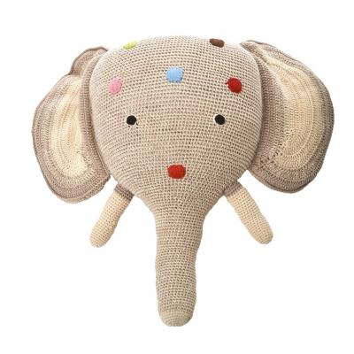Anne Claire Petit dierenkop olifant grijs