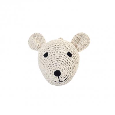 Anne Claire Petit dierenkop beer Teddy