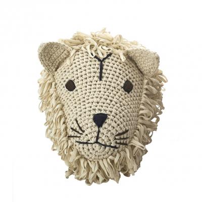 Anne Claire Petit dierenkop leeuw crème