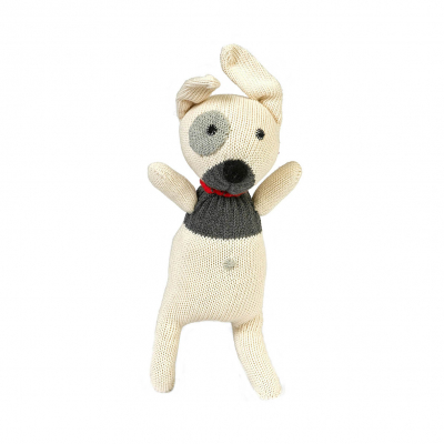 Anne Claire Petit knuffel hond beige