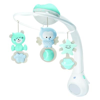 b kids projector blauw muziekmobiel