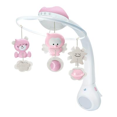 B kids 3 in 1 projector en muziekmobiel roze