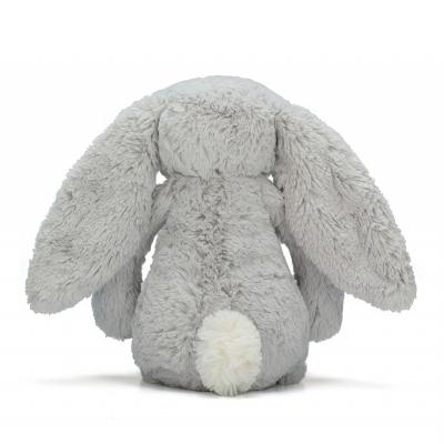 Bashful Zilveren konijn 31 van Jellycat achterkant