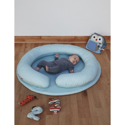 Franck & Fischer speelkleed BabyMat blauw