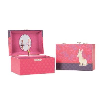 muziekdoosje bloemen konijn van Egmont toys
