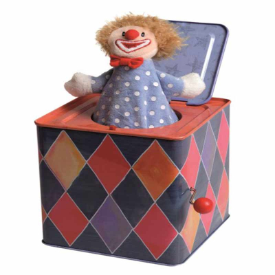 Egmont Toys Jack in the box Clown