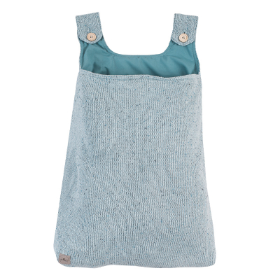 Jollein Boxopbergzak Confetti knit stone green
