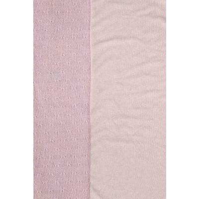 Jollein Waskussenhoes Soft knit creamy peach 50x70 cm