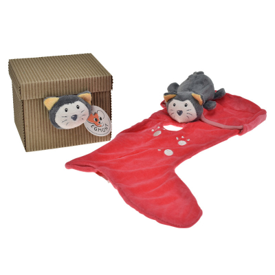 Knuffeldoekje gelaarsde kat van egmont toys