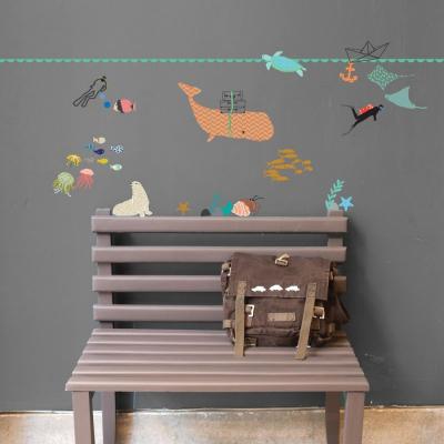 MIMI 'lou muurstickers zeedieren 5 meter