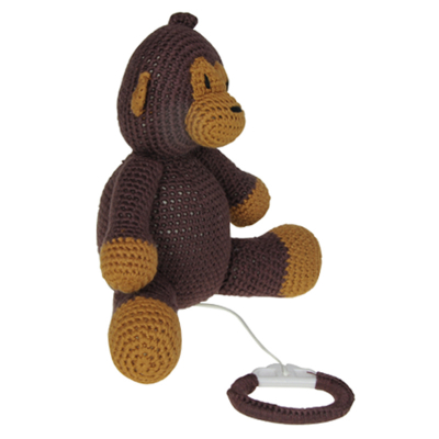 Mister Monkey muziekdoosje van Nature Zoo of Denmark
