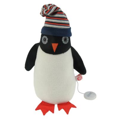 muziekknuffel ned de pinguin van esthex