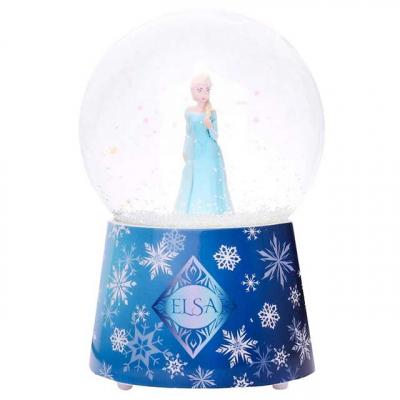 Muziekdoosje sneeuwbol Frozen Elsa van Trousselier