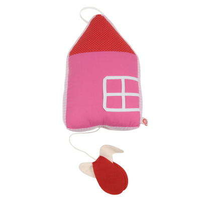 Roze huis met muziekdoosje Esthex