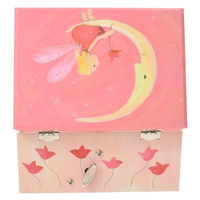 Muzikaal juwelenkoffertje maan met elfje van Egmont Toys