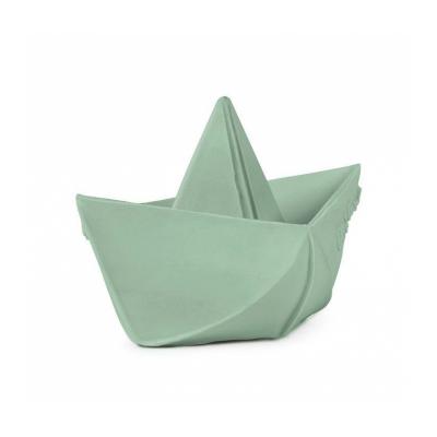 Oli & Carol origami bijt- en badspeeltje boot munt