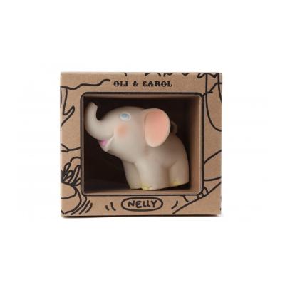 Oli & Carol bijt- en badspeeltje olifant vintage