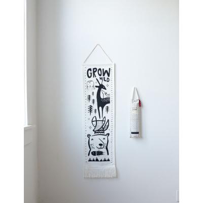 Wee Gallery groeimeter Woodland 30x115 cm