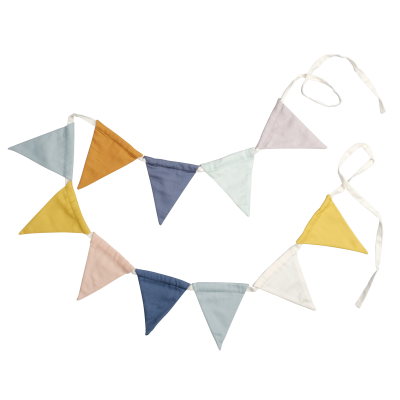 Fabelab vlaggenlijn soft garland rainbow 150 cm
