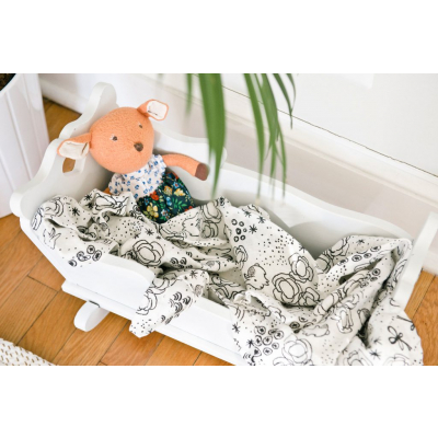 Wee Gallery swaddle 122x122 cm