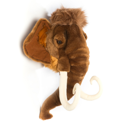 Wild & Soft dierenkop mammoet