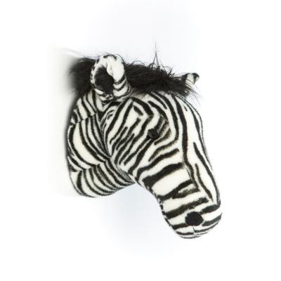 Wild & Soft dierenkop zebra