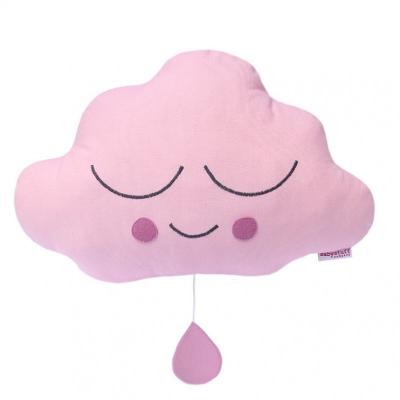 Muziekdoosje wolk eefje roze babystuff company
