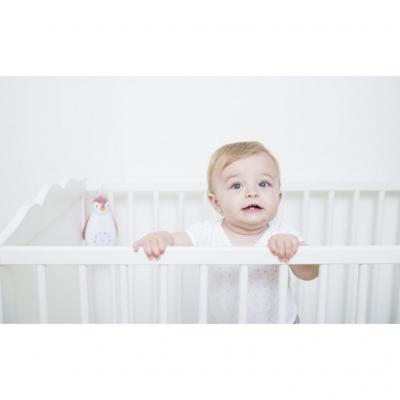 Zazu Pinguin Zoe mintgroen 3 in 1 muziekdoosje