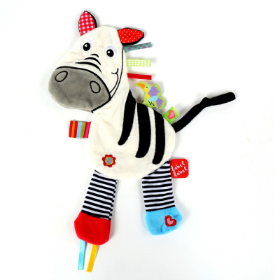 Zebra knuffeldoekje van Label Label