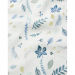 Camcam Copenhagen babydeken Pressed Leaves Blue
