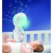 b kids projector blauw muziekmobiel kind in bedje