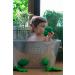 Oli & Carol bijt- en badspeeltje Brucy de broccoli