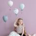 CamCam Copenhagen luchtballonnen meisje op stoel