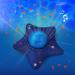 Dynamische projector blauwe ster van Pabobo