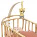 Franck & Fischer houder voor bed BabyAmuse hout