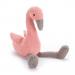 Jellycat slackajack Flamingo knuffel 33 cm