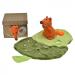 knuffeldoekje eekhoorn van egmont toys