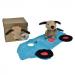 knuffeldoekje raceauto van egmont toys