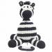 Mister Zebra muziekdoosje van Nature Zoo of Denmark