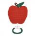 muziekdoosje appel rood anne claire petit