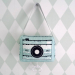 Muziekdoosje groen hip fototoestel
