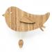 Vogel muziekdoosje bamboe van Ted and Tone