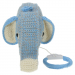 gehaakt blauw muziekdoosje olifant anne claire petit voorkant