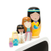 Petit Monkey Nesting dolls princess