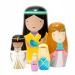 Petit Monkey Nesting dolls princess