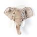 Wild & Soft dierenkop George de olifant