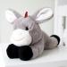 ZAZU knuffel met hartslag en geluid Don de ezel