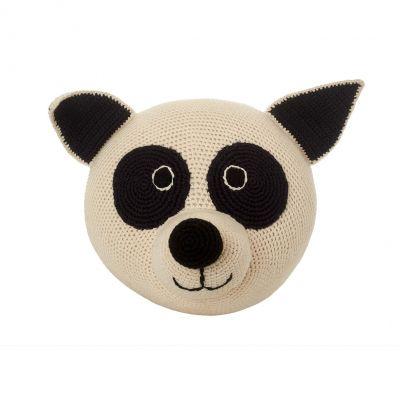 Anne Claire Petit dierenkop pandabeer Rocky