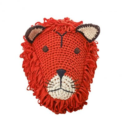Anne Claire Petit dierenkop leeuw oranje